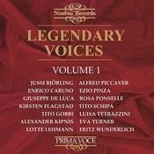 Legendary Voices, Vol. 1 Songs