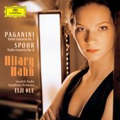 Paganini Spohr Violin Concertos Songs