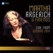 Martha Argerich and Friends Live from the Lugano Festival 2014 (SD) Songs