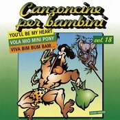 Canzoncine Per Bambini, Vol.18 Songs
