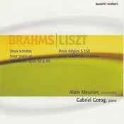 Brahms: Two Sonatas For Cello And Piano/Liszt: Two Elegies For Cello And Piano Songs