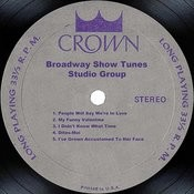 Broadway Show Tunes Songs