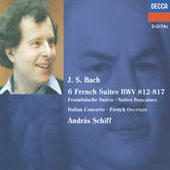 Bach, J.S.: French Suites Nos. 1-6/Italian Concerto etc. Songs