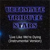 Kris Allen - Live Like We're Dying (Instrumental Version) Songs