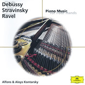 Debussy/Stravinsky/Ravel: Piano Music for Four Hands Songs