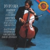 Barber: Cello Concerto; Britten: Symphony for Cello & Orchestra (Remastered) Songs
