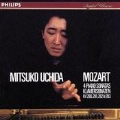 Mozart: Piano Sonatas Nos. 2 - 5 Songs