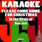 Please Come Home For Christmas (In The Style Of Bon Jovi) [Karaoke Version] - Single Songs