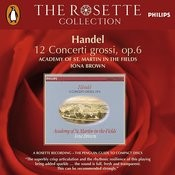 Handel: 12 Concerti Grossi, Op.6 (3 CDs) Songs