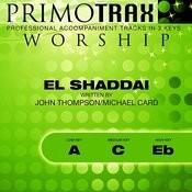 El Shaddai (Worship Primotrax) [Performance Tracks] - EP Songs