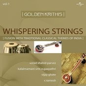 Golden Krithis Vol 1 Whispering Strings Fusion With Traditional Classical Themes Of India Songs