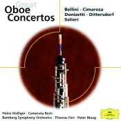 Cimarosa / Donizetti / Bellini / Dittersdorf & Salieri: Great Oboe Concertos Songs