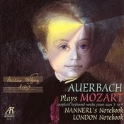 Auerbach Plays Mozart Songs