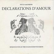 Galperine: Declarations D'Amour Songs