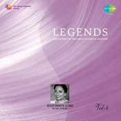 Legends - Begum Parween Sultana Cd 4 Songs