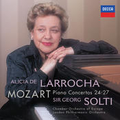 Mozart: Piano Concertos Nos.24-27 Songs
