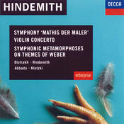 Hindemith: Violin Concerto; Symphonic Metamorphoses on Themes of Weber etc. Songs