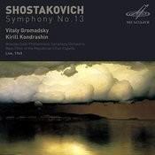 Shostakovich: Symphony No. 13 (Live) Songs