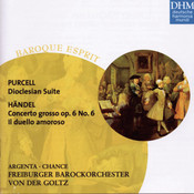 Purcell,Händel: Suite/Concerto Songs