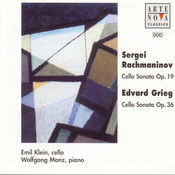 Rachmaninov/Grieg: Cello Sonatas Songs