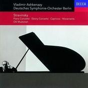 Stravinsky: Concerto For Piano & Winds/Ebony Concerto/Capriccio/Movements Songs