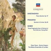 Shostakovich: Piano Quintet; Prokofiev: Quintet In G Minor; Seiber: Three Fragments Songs
