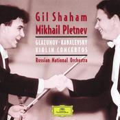 Kabalevsky:Violin Concerto/Glazunov: Violin Concerto/Tchaikovsky: Souvenir d'u lieu cher, &c. Songs