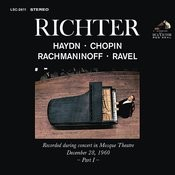 Sviatoslav Richter Plays Haydn, Chopin, Rachmaninoff And Ravel - Live At Mosque Theatre (December 28, 1960) Songs