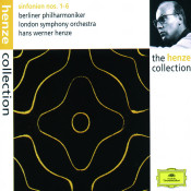 Henze Symphonies Nos 1 6 Songs