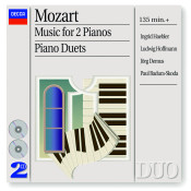 Mozart: Music for 2 Pianos; Piano Duets Songs