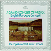Trevor Pinnock A Grand Concert Of Musick Songs