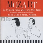 Mozart: The Complete Piano Works For Four Hands Songs