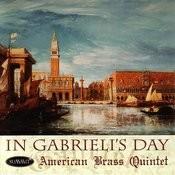 In Gabrieli's Day Songs