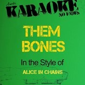 Them Bones (In The Style Of Alice In Chains) [Karaoke Version] - Single Songs
