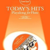 Playalong For Flute: Today's Hits Songs
