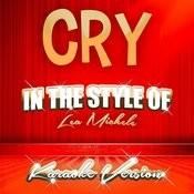 Cry (In The Style Of Lea Michele) [Karaoke Version] - Single Songs