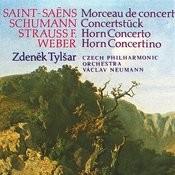 Weber, Strauss, Saint-Saëns, Schumann: Concertino In E Minor, Concerto In C Minor, Morceau De Concert, Concerto Piece Songs
