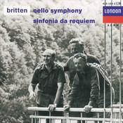 Britten: Cello Symphony; Sinfonia da Requiem; Cantata Misericordium Songs