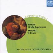 Haydn, Mozart: Grosse Orgelmesse/Te Deum Songs