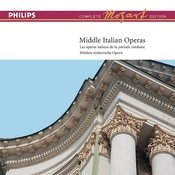 Mozart: Complete Edition Box 14: Middle Italian Operas Songs