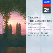 Strauss R Strauss F The Concertos Songs