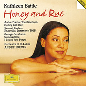 Previn: Honey & Rue / Barber: Knoxville / Gershwin: Porgy and Bess Songs