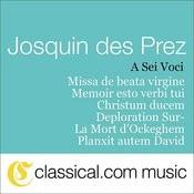Josquin Des Prez, Missa De Beata Virgine Songs