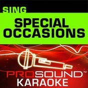 Happy Birthday (Karaoke Lead Vocal Demo) [In The Style Of Special Occasions] Song