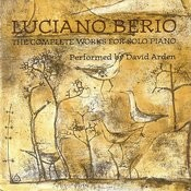 Luciano Berio - The Complete Works For Solo Piano Songs