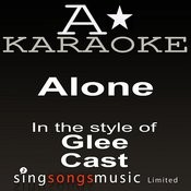 Glee Cast - Alone (Karaoke Audio Version) Songs