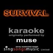 Survival (Originally Performed By Muse) [Karaoke Audio Version] Song