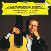 J.S. Bach: Transcriptions for Guitar Solo Songs