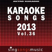 Karaoke Songs: 2013, Vol. 3 Songs