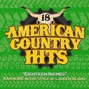 Eighteen Inches (Karaoke In The Style Of Lauren Alaina) Song